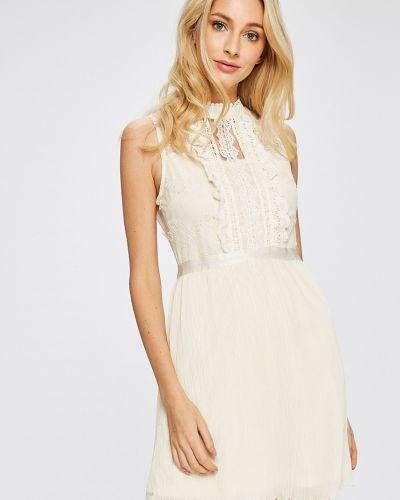Платье мини с оборками на молнии Answear