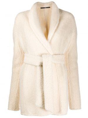 Длинное пальто из альпаки с воротником Gianfranco Ferre Pre-owned