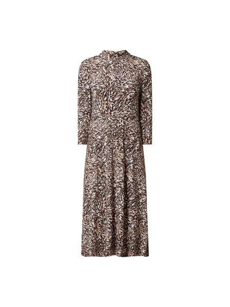 Sukienka midi z wiskozy - biała Set