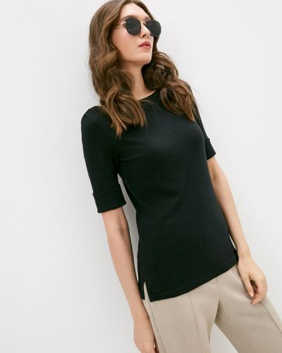 Черная футболка с короткими рукавами Lauren Ralph Lauren