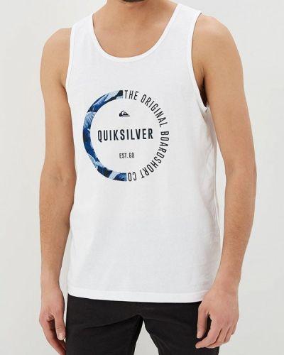 Белая майка Quiksilver