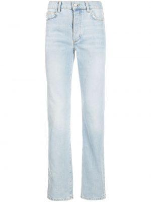 Niebieskie jeansy z paskiem Fiorucci