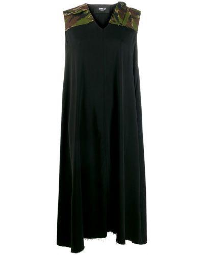 Платье миди с V-образным вырезом без рукавов Yang Li
