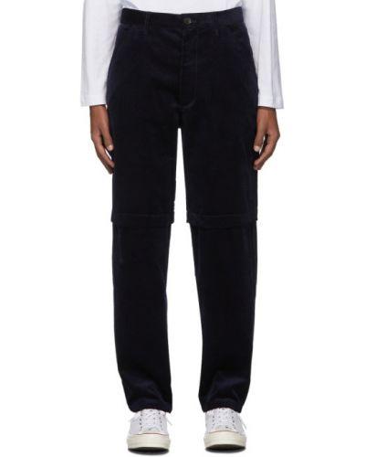 Spodnie sztruksowe z paskiem Comme Des Garcons Shirt