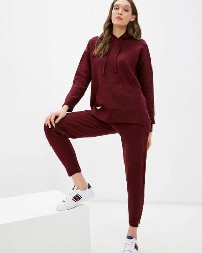 Вязаный костюм - бордовый Vladi Collection