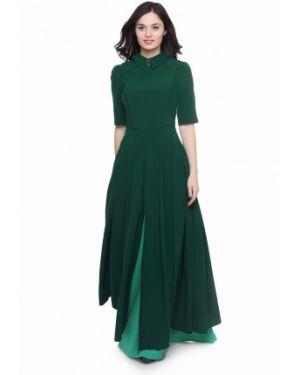 Вечернее платье - зеленое Grey Cat