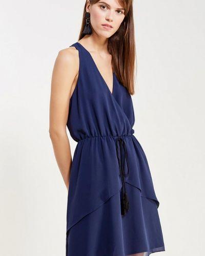 Синее коктейльное платье Bcbgeneration