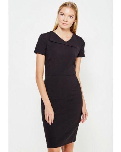Платье осеннее черное Bestia