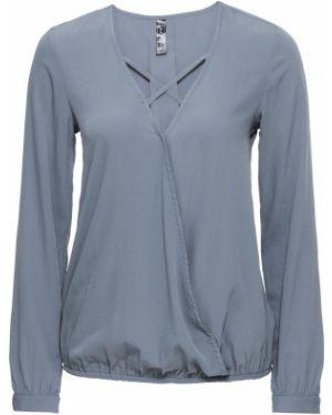 Блузка с запахом легкая Bonprix