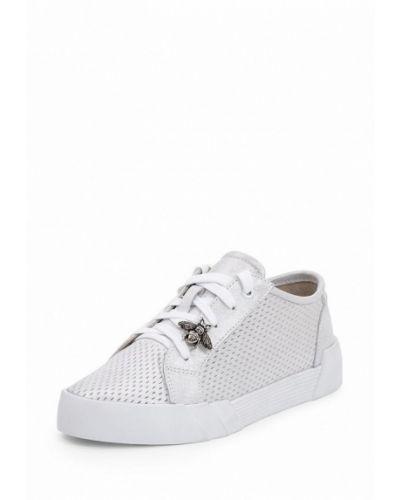 Белые кеды на каблуке Frivoli