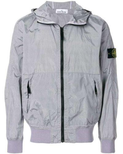 Длинная куртка с капюшоном Stone Island