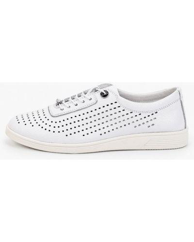 Кожаные белые ботинки Thomas Munz