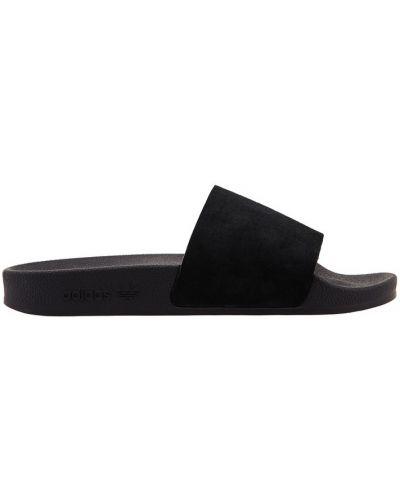 Сандалии черные анатомические Adidas
