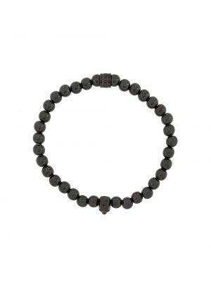 Черный браслет с подвесками Northskull