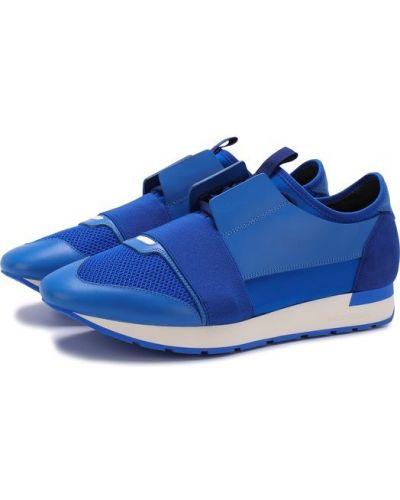 Синие кроссовки Balenciaga