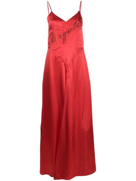 Платье с открытой спиной платье-комбинация Mm6 Maison Margiela