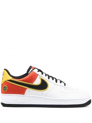Czarny top koronkowy sznurowany Nike