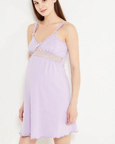 Рубашка фиолетовый Hunny Mammy