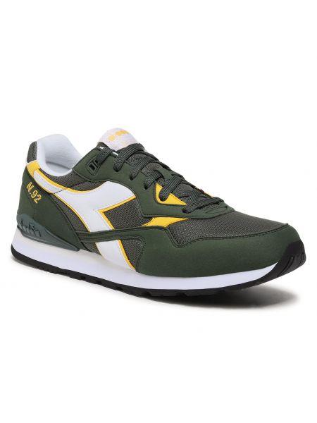 Sneakersy - zielone Diadora