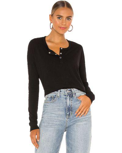 Bawełna bawełna czarny t-shirt Bobi