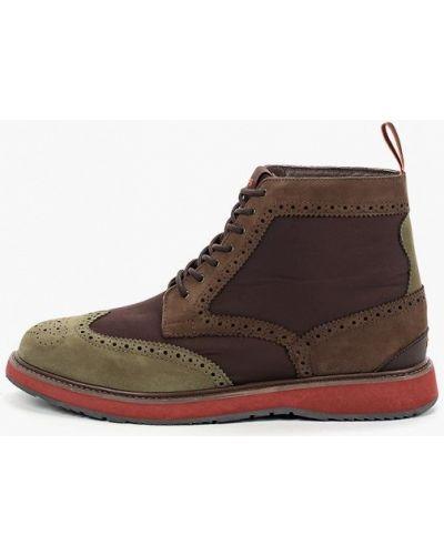 Текстильные ботинки - коричневые Swims