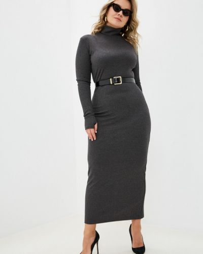 Серое платье-свитер Trendyangel