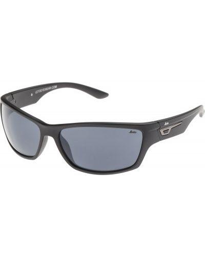 Солнцезащитные очки черные серые Leto