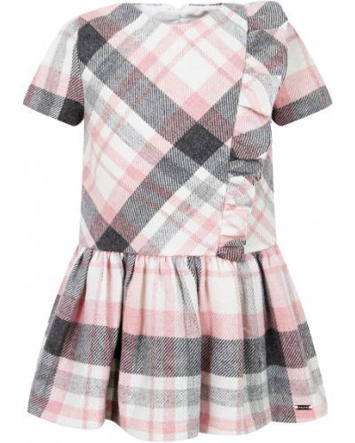 Розовое платье из вискозы Mayoral