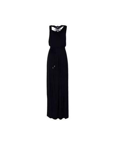 Вечернее платье из вискозы - черное Class Cavalli