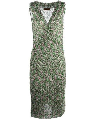 Zielona sukienka Missoni