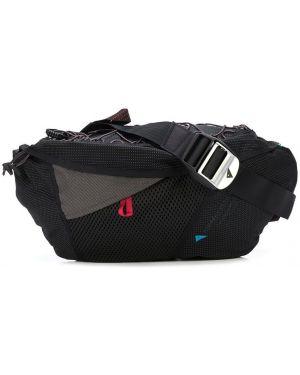 Черная поясная сумка с поясом Klättermusen
