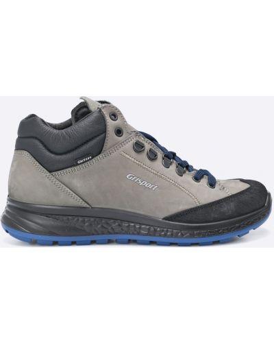 Ботинки на шнуровке спортивные кожаные Grisport