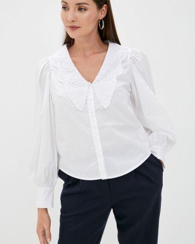 Блузка с длинными рукавами - белая Sela
