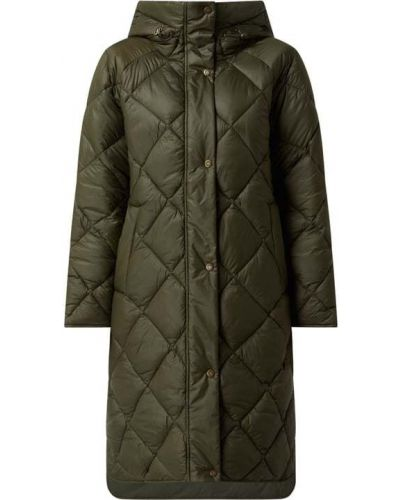 Zielony płaszcz pikowany Barbour