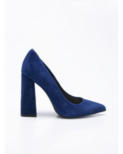 Синие туфли Gino Rossi