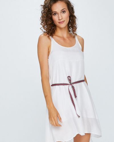 Платье мини шелковое однотонное Answear