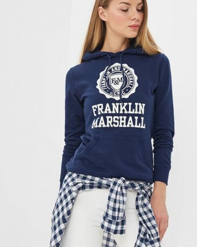 Синяя толстовка Franklin & Marshall