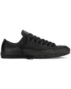 Kozaki skórzane - czarne Converse