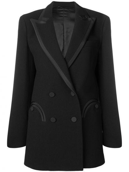 Черная куртка с манжетами на пуговицах с подкладкой Blazé Milano