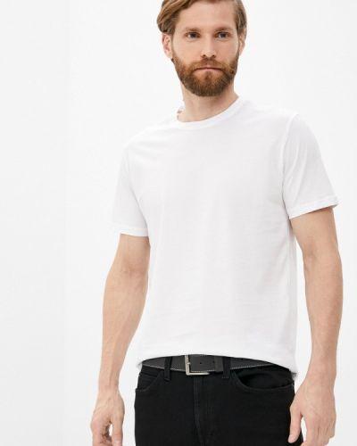 Белая футболка с короткими рукавами Cudgi