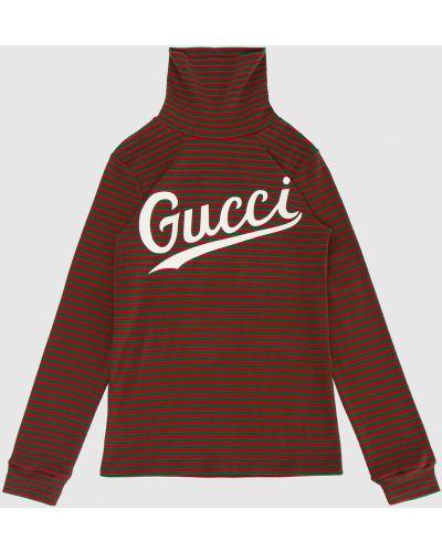 Зеленая футболка Gucci
