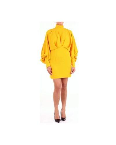 Żółta sukienka mini Lucille