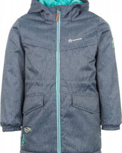 Утепленная куртка с капюшоном длинная спортивная Outventure