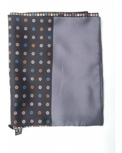 Серый шарф итальянский Gallieni