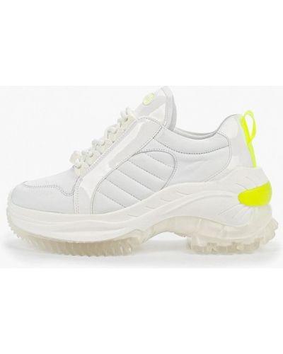 Кроссовки белый из искусственной кожи Bronx