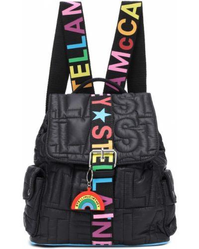 Czarny plecak Stella Mccartney Kids