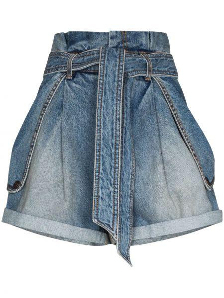 Niebieskie jeansy bawełniane Zimmermann