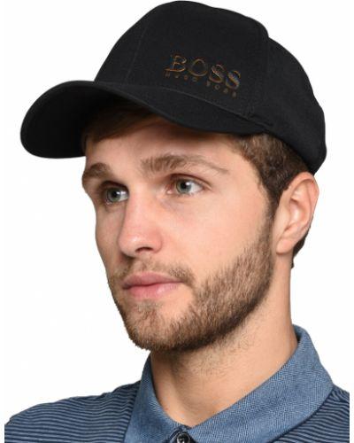 Бейсболка черная Hugo Boss