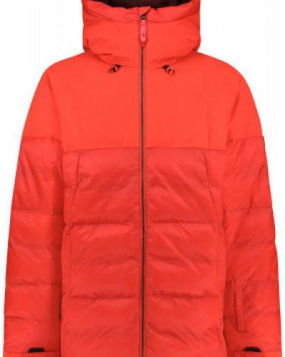 Прямая утепленная красная куртка O`neill