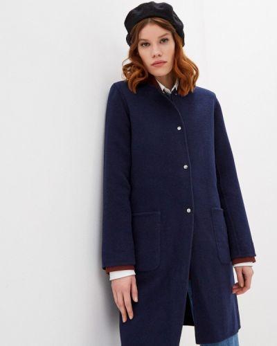 Синее пальто Gerard Darel
